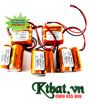 Pin PLC Maxell 2CR17335A-WK17 lithium 3.6v Made in Japan