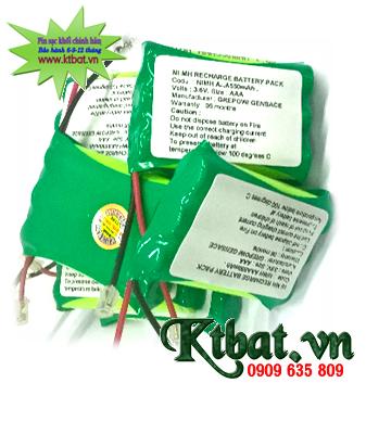 Pin sạc 3.6v-AAA750mAh NiMh, Pin sạc công nghiệp NiMh 3.6v-AAA750mAh chính hãng