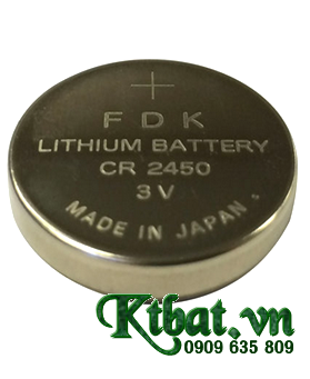 Pin PLC FDK CR2450 lithium 3v Made in INdonesia