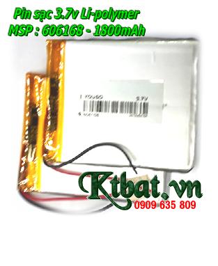 Pin tẹp li-polymer 3.7v thay ruột máy tính bảng,...319598 với 2200mAh | Bảo hành 3 tháng