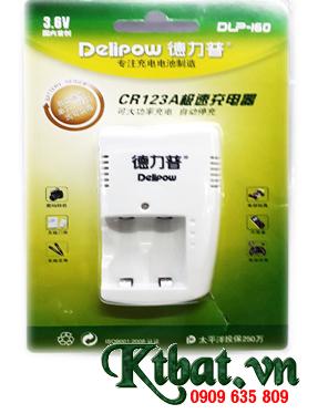 Máy sạc Pin Lithium Li-Ion Delipow DLP-205 chuyên dụng sạc pin CR123A Li-Ion