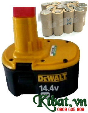 Pin máy khoan Dewalt 14.4v2000mAh chính hãng, thay pin máy khoan