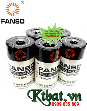 Pin PLC FANSO ER26500H lithium 3.6v C 9500mAh; pin nuôi nguồn ER26500H
