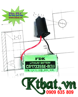 Pin PLC FDK CR17335SE-R lithium 3v size 2/3A Made in Japan