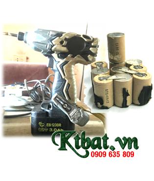 Pin máy khoan Hitachi EB1214S, EB1220HL, EB1220HS, EB1220RS, EB1222HL, EB1226HL, EB1230HL, EB1230R, EB1230X, EB1233X