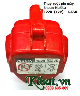 Pin máy khoan Makita 1220 (12v), thay pin máy khoan Makita 12v chính hãng | Bảo hành 6 tháng