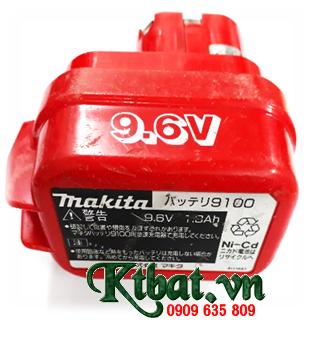 Pin máy khoan Makita 9100 (9.6v-1.0ah); Pin sạc NiMh-NiCd máy khoan Makita 9100 (9.6v-1000mAh)
