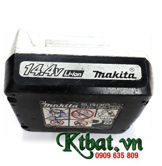 Pin sạc máy khoan Makita BL1413C; Pin máy khoan Makita BL1413C-14.4v/1.3AH; Thay ruột pin máy khoan Makita BL1413C (14.4v-1.3ah)